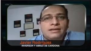 Javier Rodriguez en tv